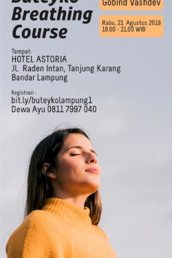 Buteyko Breathing Course Lampung